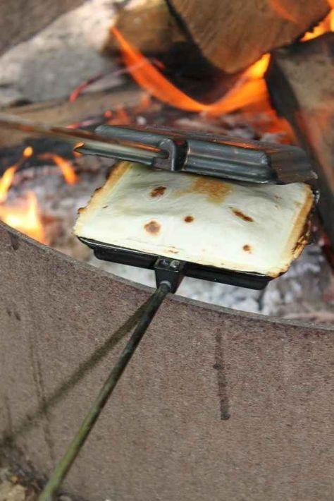 Pie Iron Tacos