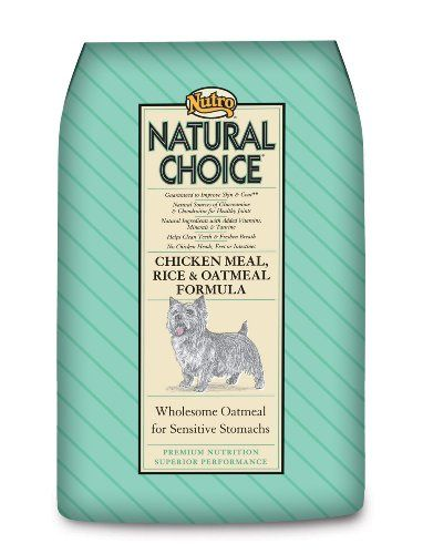 Natural Choice Adult Chicken, Whole Brown Rice, and Oatmeal Formula, Dog Food, 30-Pound bag