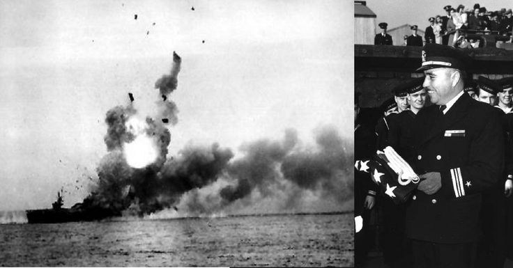 With Suicidal Courage, Commander Ernest Evans Took on 4 Japanese Battleships near Leyte, With 3 Destroyers