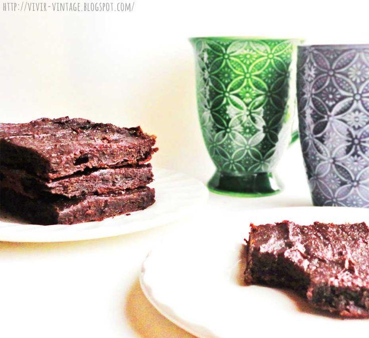 como hacer brownies sin azucar sin manteca sin harina
