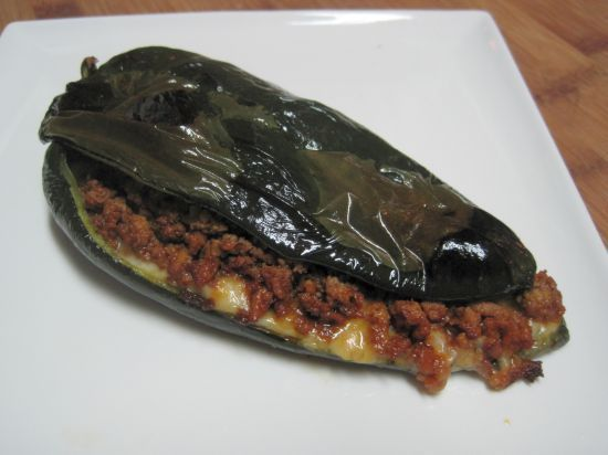 Dukan Diet Recipe Stuffed Chilis