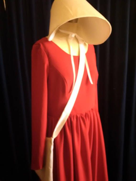 Everyone is looking for The Handmaid's Tale costume this year! The Handmaid's Tale costume is also popular with women's rights protesters.