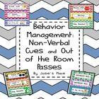Encourage better behavior and improve behavior management with these non-verbal cue cards. Put them on a child's desk when behavior warrants it as ...