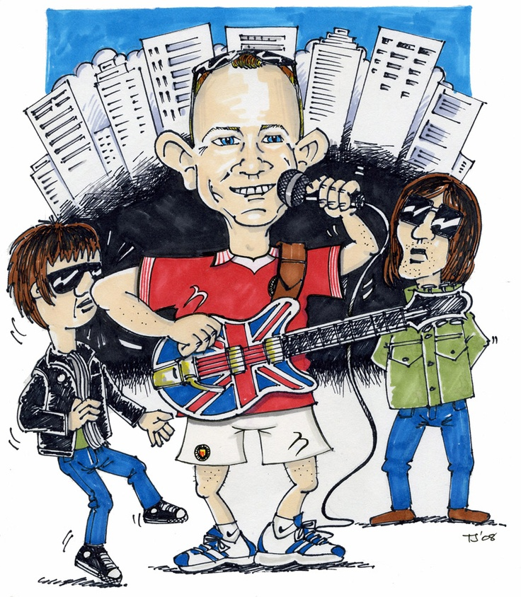 For an Oasis fan who was moving to Singapore. Tony Johnson