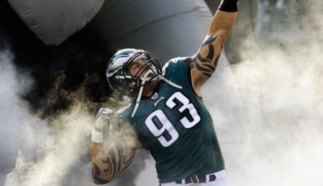 Philadelphia Eagles defensive end Jason Babin plays a huge role for the Eagles both on and off the field. He continues to donate funds and equipment to the youth football league that he started out in back home in Michigan, and gets out into the community whenever he can to help influence today's youth to become something great. #Eagles #PhiladelphiaEagles #NFL #Football #community #charity #NFLPA #EaglesNation