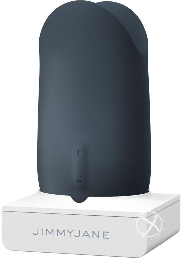Buy Jimmyjane Form 5 Silicone Rechargeable Versatile Vibrator Waterproof Slate online cheap. SALE! $134.99