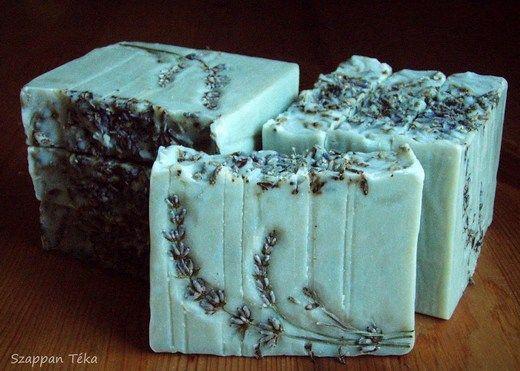 levendula mintás szappan