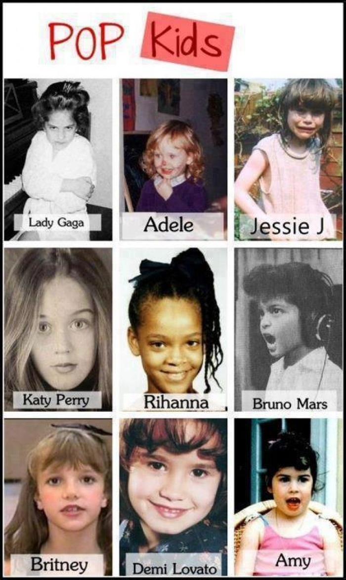 Celebrity pop outs for kids