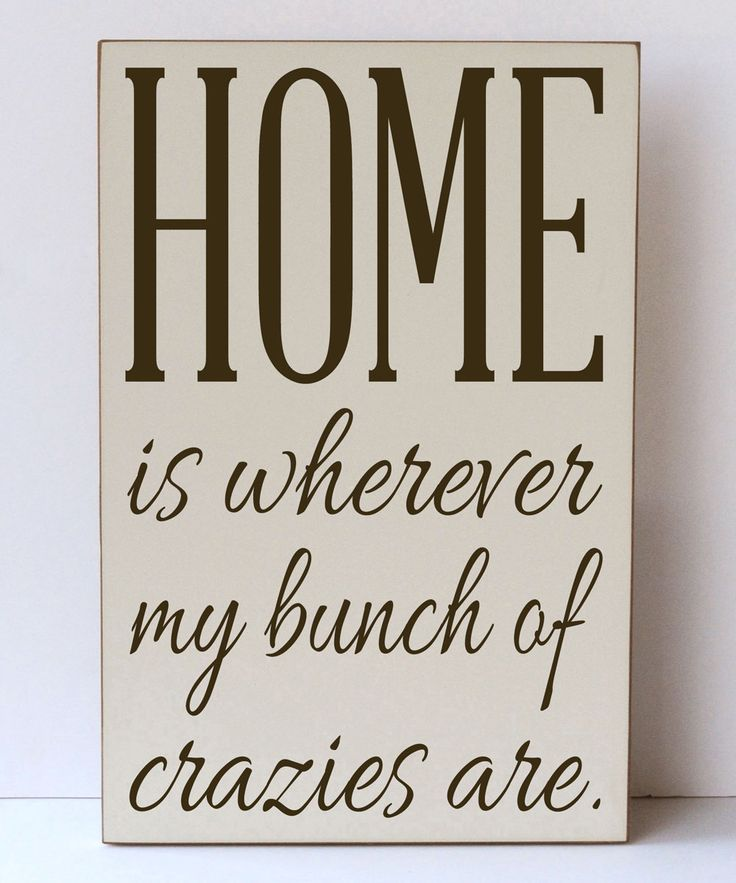 Look at this Vinyl Crafts Cream & Brown 'My Bunch of Crazies' Wall Sign on #zulily today!