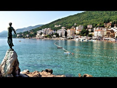 Charmantes Opatija in Kroatien   Kvarner Bucht 2015 - YouTube