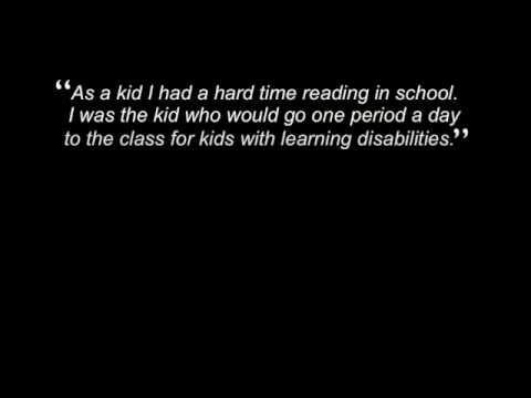 The Power Of Dyslexia about Famous Dyslexics - YouTube
