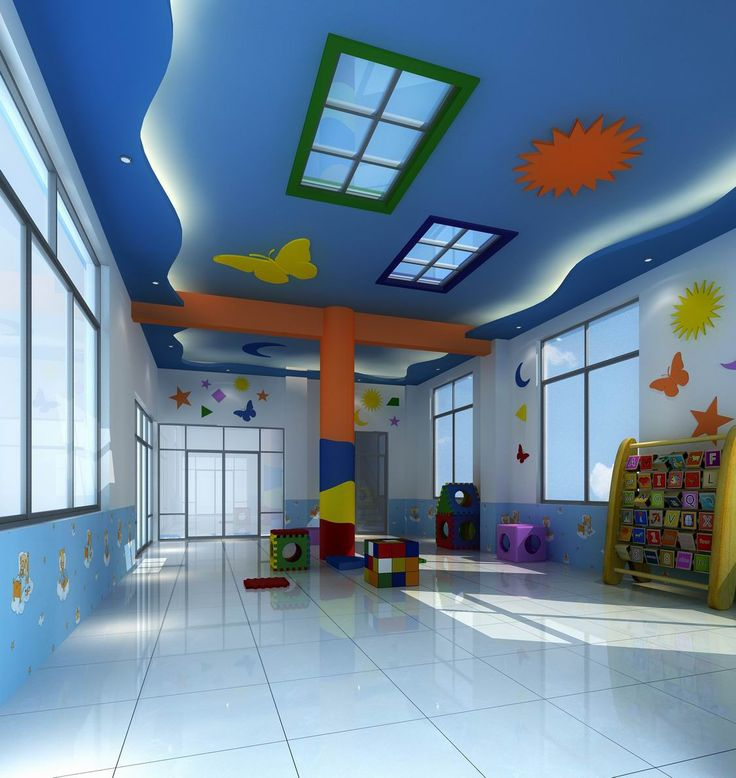 Home Daycare Design Ideas: Kindergarten Interior Design