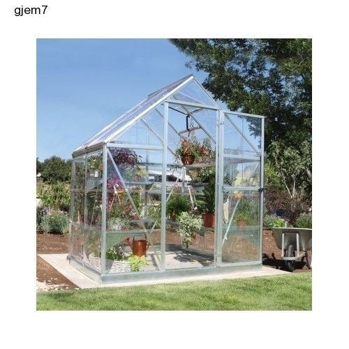 6ft X 4ft Hobby Greenhouse Green House Kit Prefab Small Garden Patio Buy A  DIY