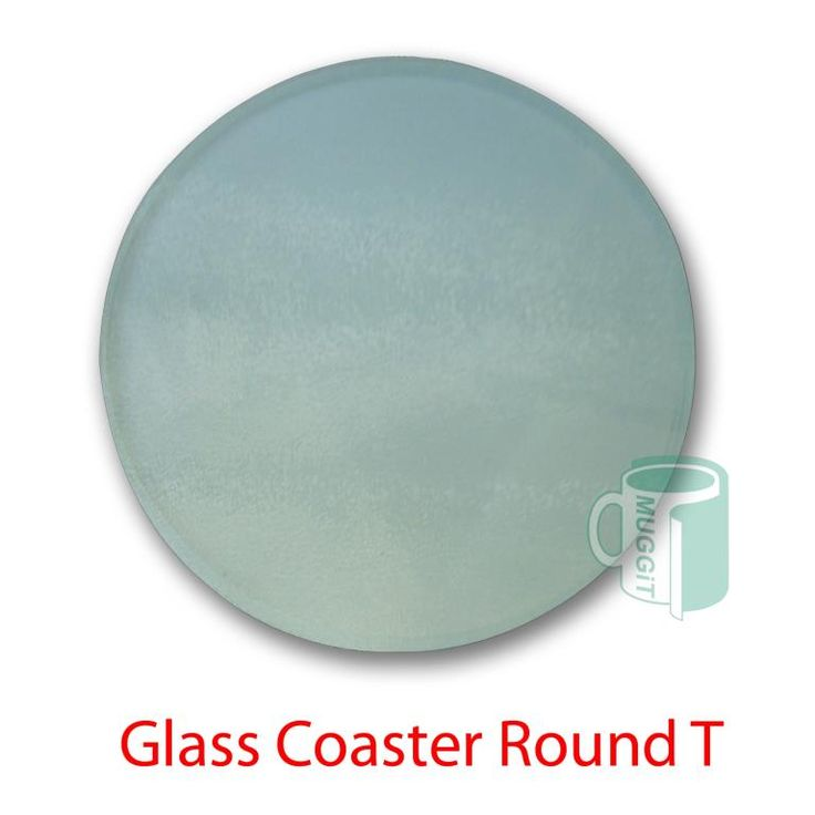 Coasters & Mousepads : Glass Coaster Round T