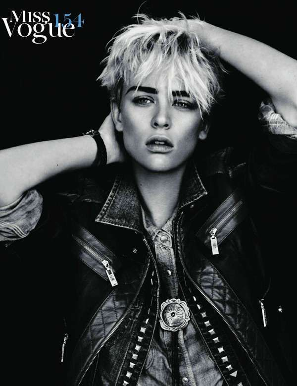 Femininity Gets Masculine for Vogue Paris February 2011 #tomboy #fashion trendhunter.com