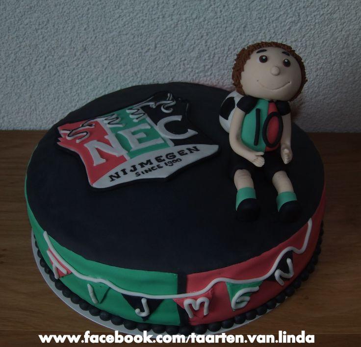 NEC cake, dutch soccer team Nijmegen
