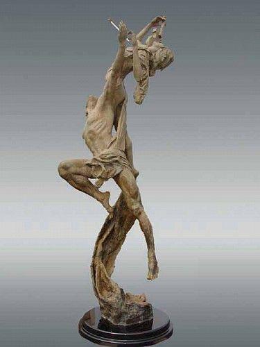 Nguyen Tuan, Reminiscence, Bronze Sculpture. http://contessagallery.com/artist/Nguyen_Tuan/works/list/