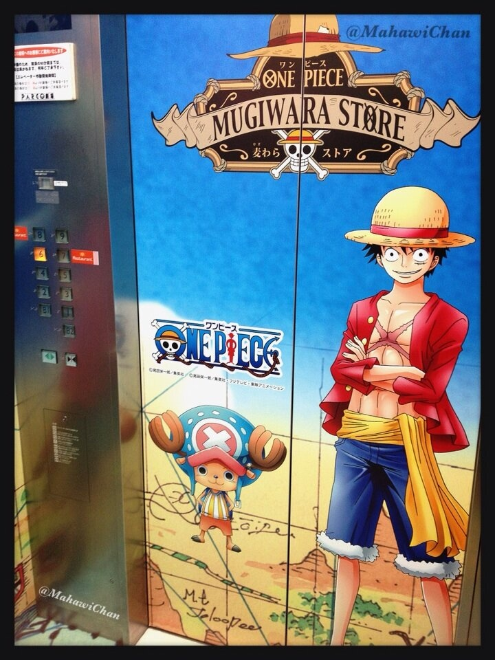 One Piece Elevator