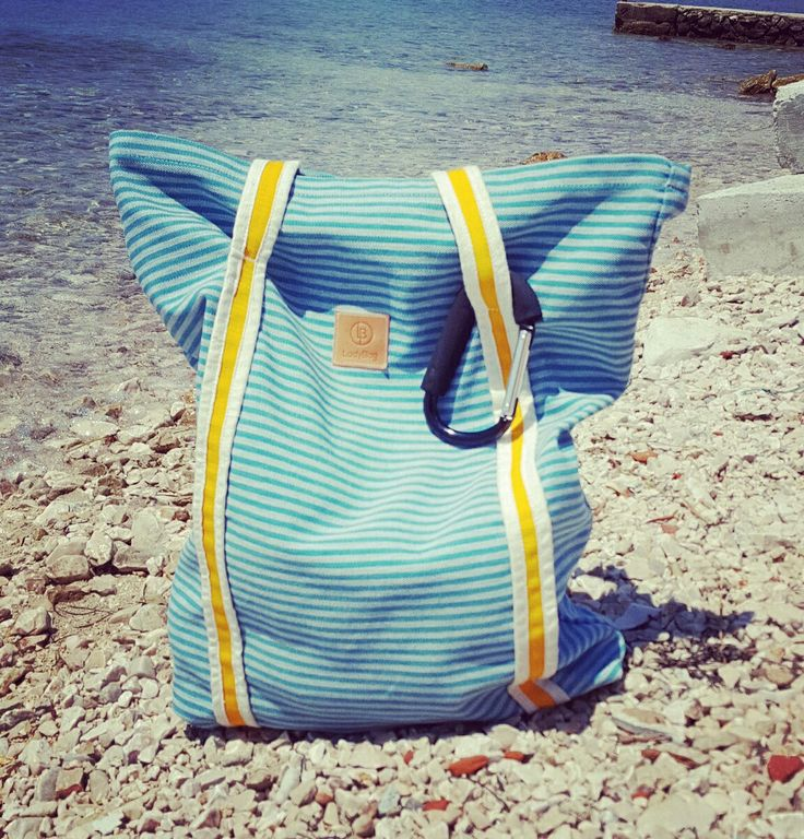 HandMade by LadyBag.pl beach / city BAG XXL