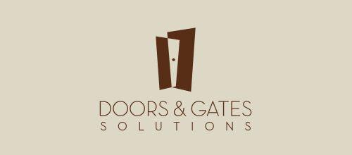 doors solutions logo designs