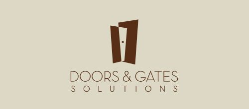 doors solutions logo designs