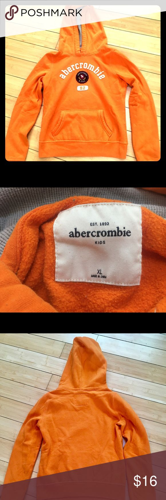 Abercrombie Girls Hoodie Girls xl Abercrombie hooded sweatshirt. abercrombie kids Shirts & Tops Sweatshirts & Hoodies