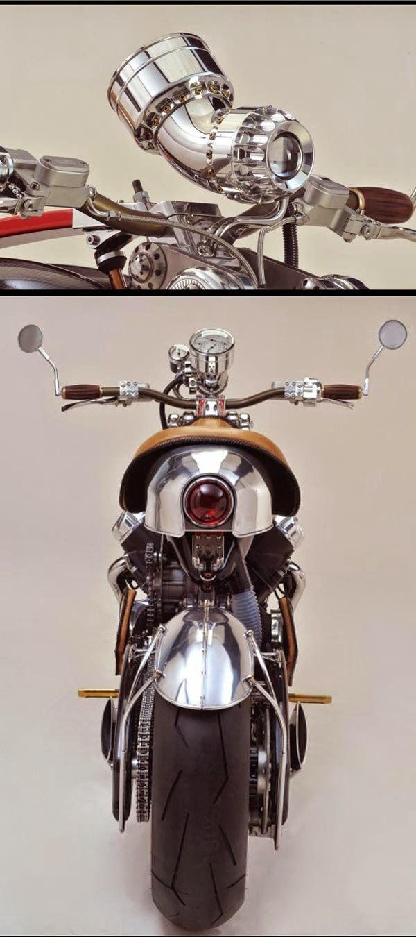 Blog Serius: Serius Cool - Bienville Legacy : Motosikal 300 Kuasa Kuda Buatan Tangan (11 Gambar)