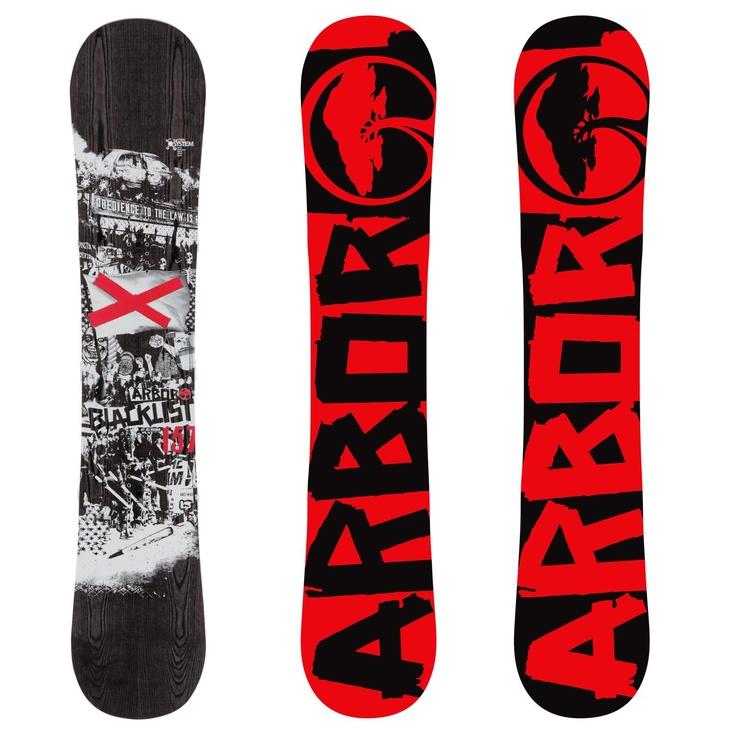 Arbor Blacklist Mid Wide Snowboard 2013