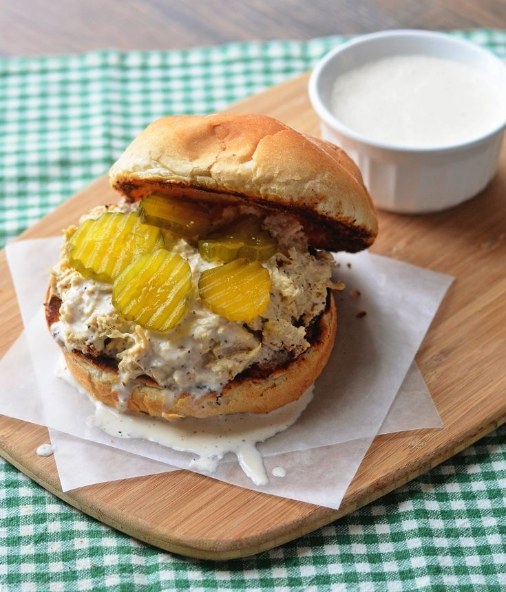 Alabama Chicken Sandwich with White BBQ Sauce - The Spice Kit Recipes