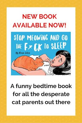 "Cat Chat With Caren And Cody: Hilarious Cat Book: ""Stop Meowing and Go the F*ck to Sleep"" By Rosa Silva Illustrated by Diana Necsulescu (With Give-Away!!!)"