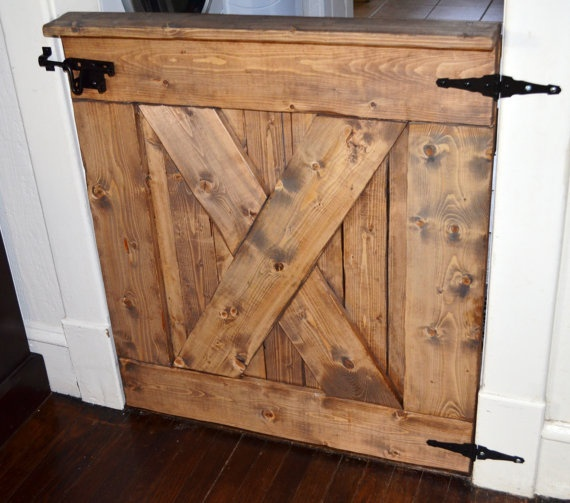 rustic barn baby gate - wood - outlaws wood. & 70 best rustic cafe doors and baby gates images on Pinterest ...