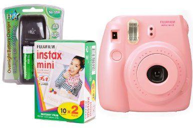Fuji Instax Mini 8 Sofortkamera-Set inkl. 2 10er-Filme: Amazon.de: Kamera & Foto