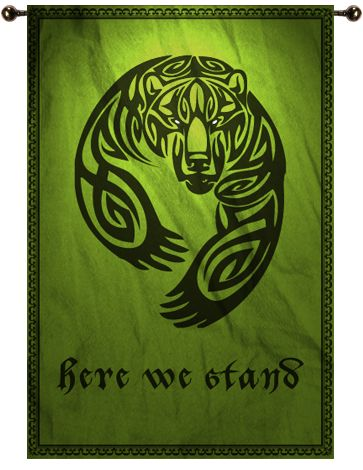 House Mormont: Here We Stand.