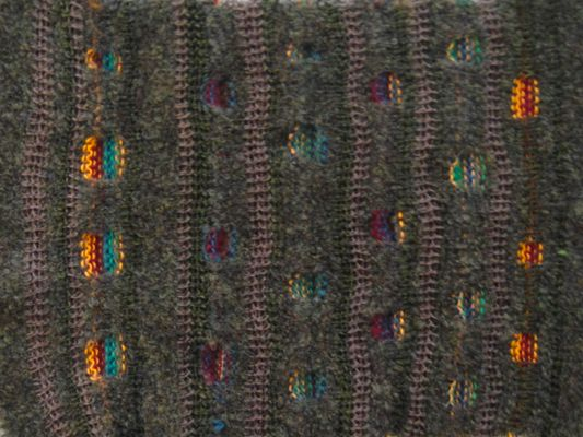 knitted sample  by laurie bessems