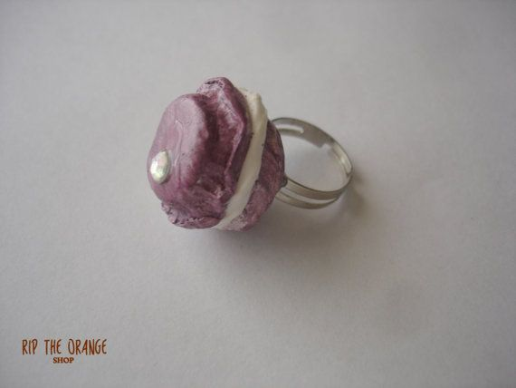 Macaron Rings - Purple & Yellow
