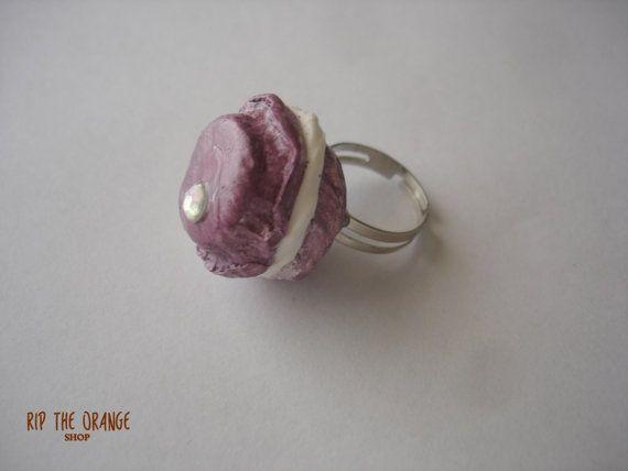 Macaron Rings - Purple & Yellow