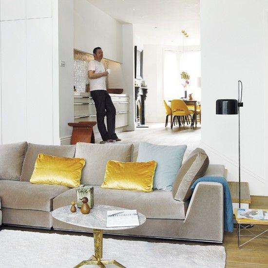 Take a tour around an elegant modern home