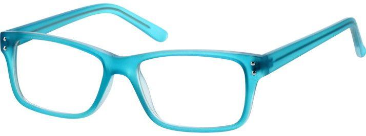BlueCaribbean Azure Blue Eyeglasses124516
