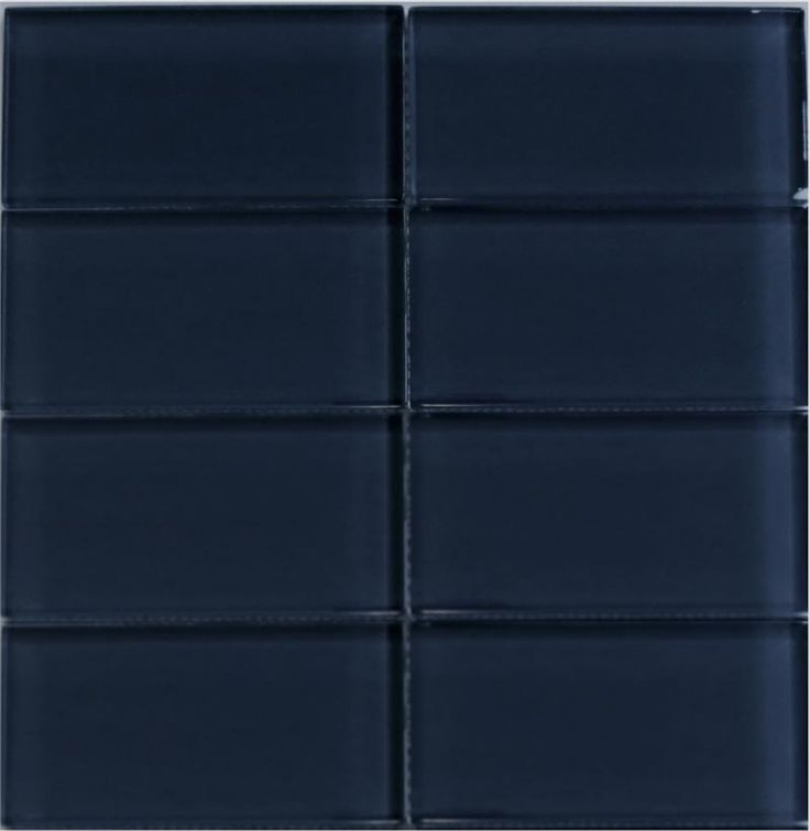 dark blue glass subway tile cobalt blue lush and glass subway tile