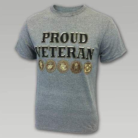 Proud Veteran T- Shirt #memorialday