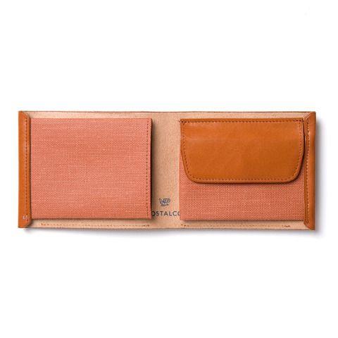 Postalco Pressed Cotton Billfold Wallet