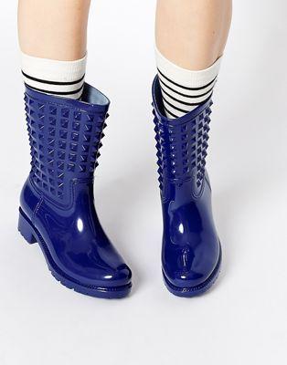 London Rebel Tucker Wellington Boots