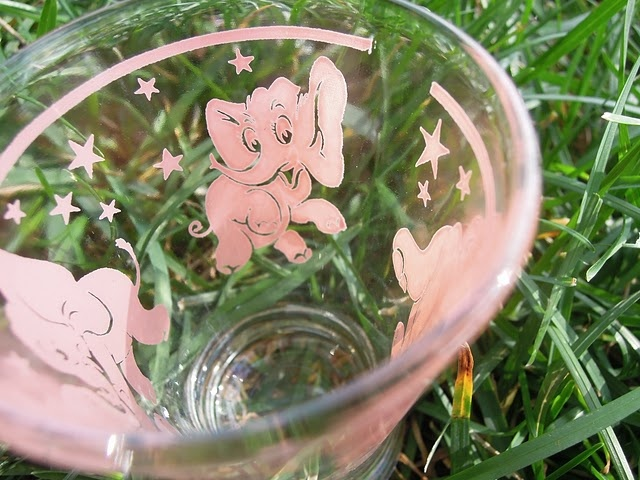 And some Pink Elephant martini glasses!