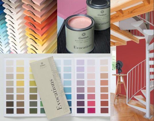 La Collection Evocations des Peintures Guittet Un monde de couleurs s'offre à vous ! 128 teintes pour tous vos projets de décoration intérieure.