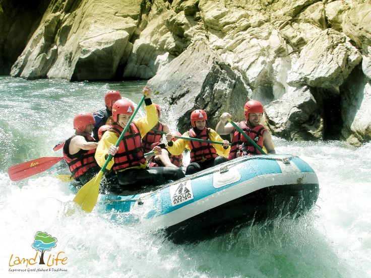 Rafting at Lousios river in Peloponnese. What an amazing experience...