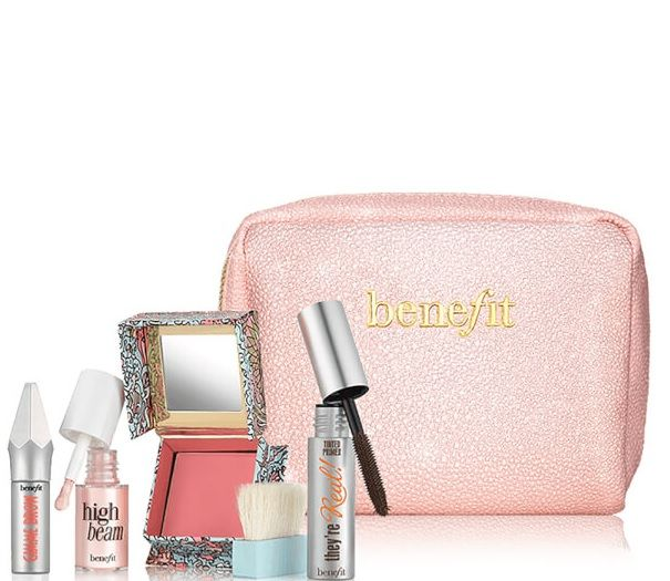 Benefit benefit Sunday My Prince Will Come Beauty Kit Create natural makeup looks with benefit's Sunday My Prince Will Come Beauty Kit. Combining face, eye and brow products, the set has everything you need to achieve effortlessly flawless makeup. Complete with a collectable makeup bag. #affiliate