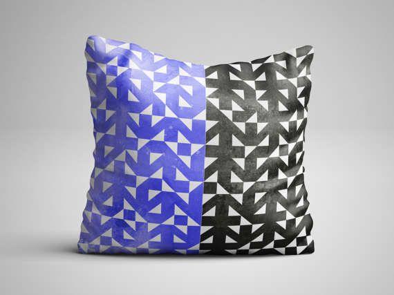 Scandinavian Design Throw Pillow - Nordic Pattern Pillow with insert - Seamless Pattern Decorative Pillow - Scandinavian Decor