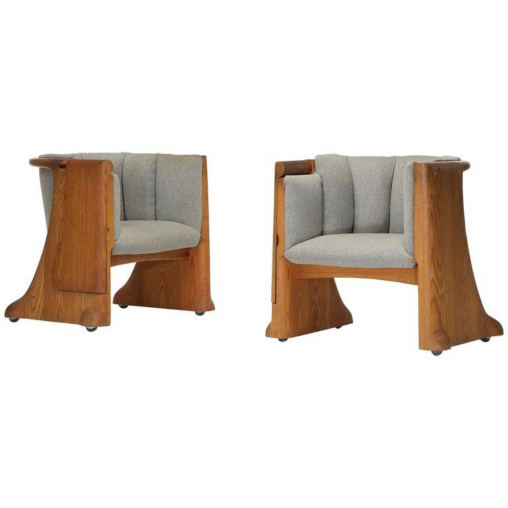 Gannett Boardroom Chairs, Pair by Wendell Castle | 1stdibs.com