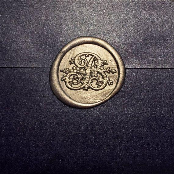 B Initials Wax seal stamp /Heypenman crossover by blackmarketintl