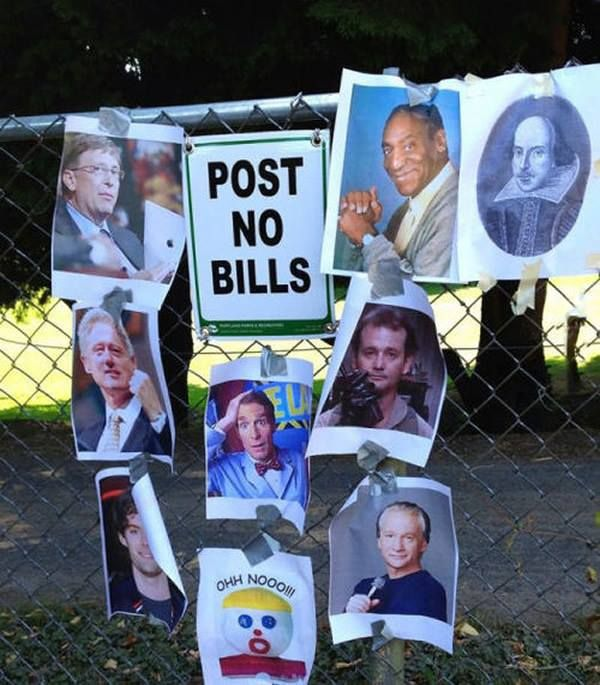 Post no Bills: REBELLION!